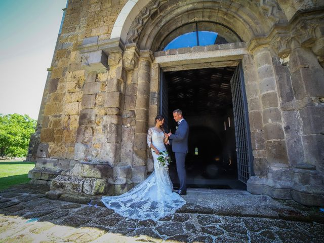 Il matrimonio di Walter e Anna a Tuscania, Viterbo 37