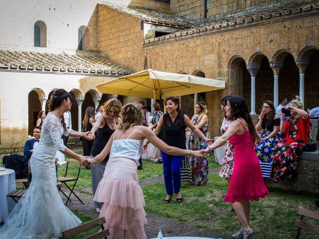 Il matrimonio di Walter e Anna a Tuscania, Viterbo 61