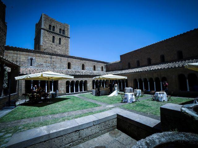 Il matrimonio di Walter e Anna a Tuscania, Viterbo 68