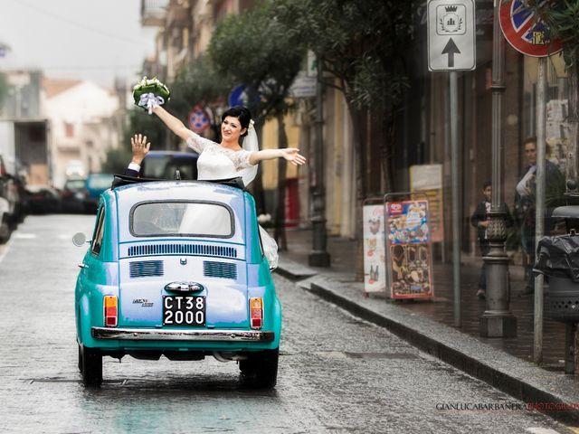 Il matrimonio di Salvatore e Julia a Zafferana Etnea, Catania 17