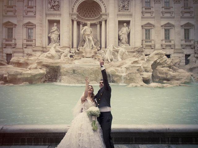 Il matrimonio di Michael e Gina a Roma, Roma 1