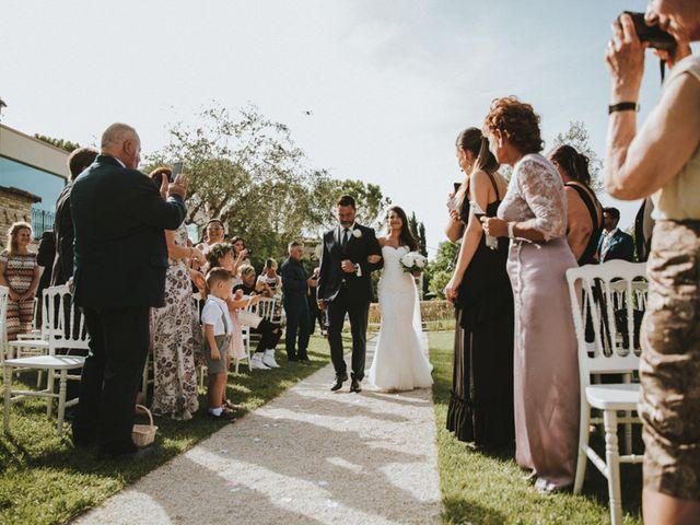 Il matrimonio di Aaron e Sarah a Mogliano, Macerata 23