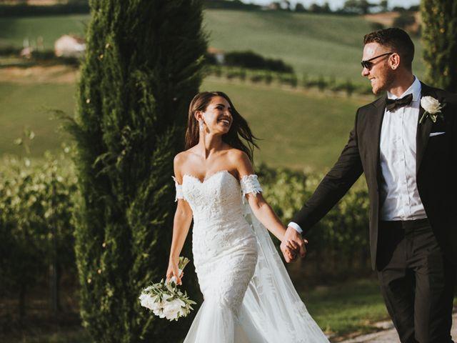 Il matrimonio di Aaron e Sarah a Mogliano, Macerata 32