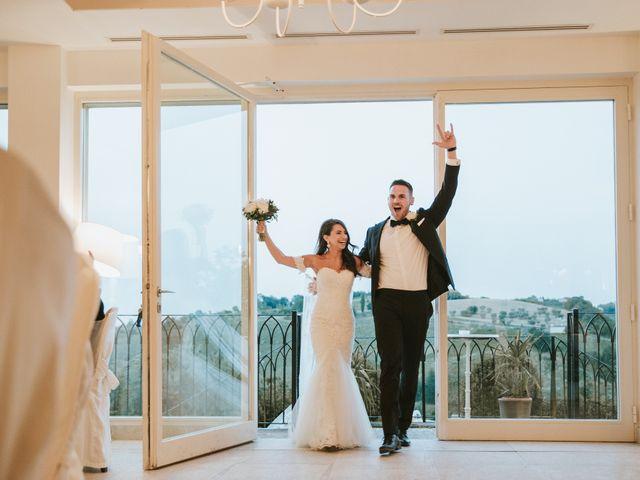 Il matrimonio di Aaron e Sarah a Mogliano, Macerata 36