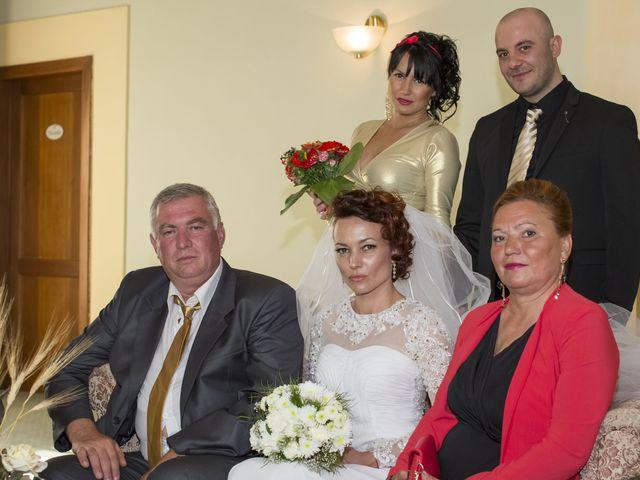 Il matrimonio di Saverio e Ana Maria a Poggibonsi, Siena 5