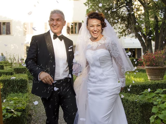 Il matrimonio di Saverio e Ana Maria a Poggibonsi, Siena 1