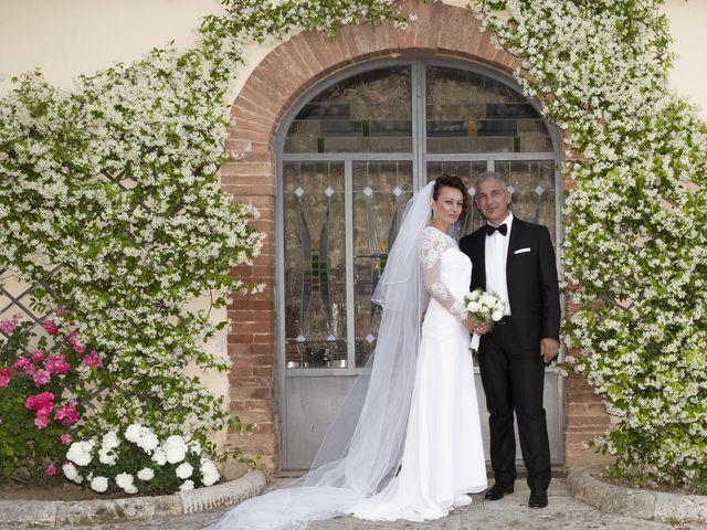 Il matrimonio di Saverio e Ana Maria a Poggibonsi, Siena 11