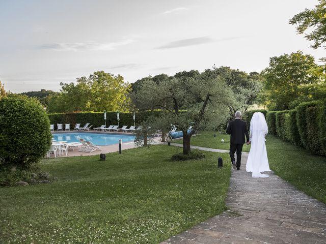 Il matrimonio di Saverio e Ana Maria a Poggibonsi, Siena 12