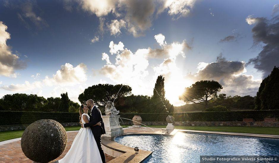 Il matrimonio di Claudia e Pierpaolo a Bracciano, Roma