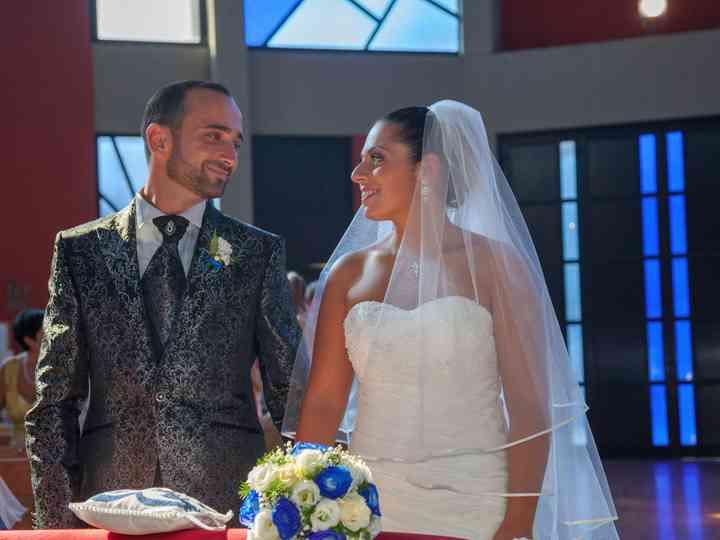 le nozze di Roberta e Bruno