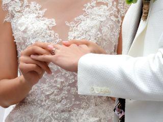 Le nozze di Shay e Jong