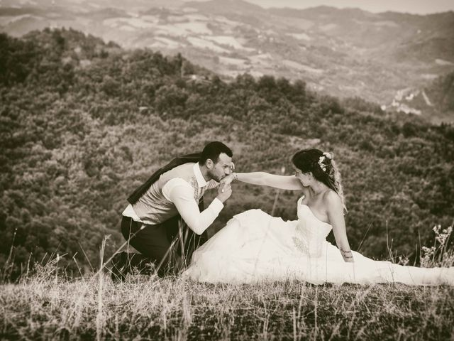 Le nozze di Fiamma e Alex