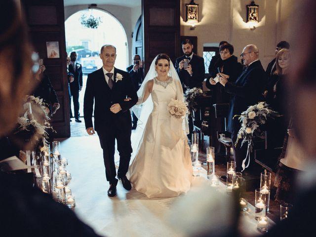 Il matrimonio di Mirko e Elisa a Cerveteri, Roma 41