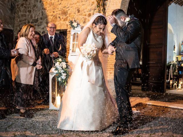 Il matrimonio di Mirko e Elisa a Cerveteri, Roma 42