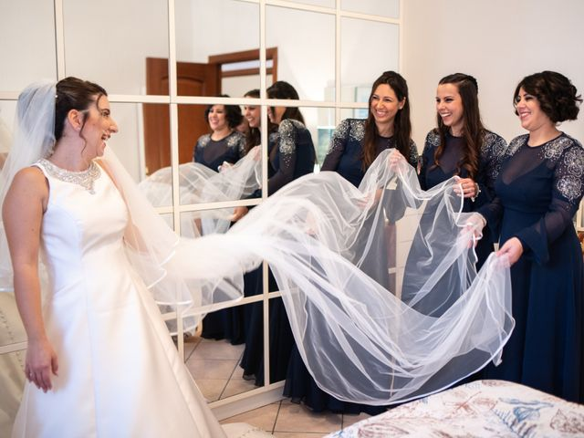 Il matrimonio di Mirko e Elisa a Cerveteri, Roma 44