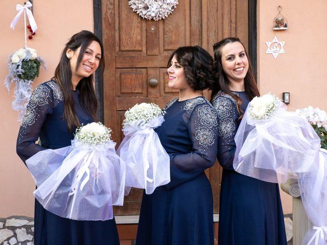 Il matrimonio di Mirko e Elisa a Cerveteri, Roma 46