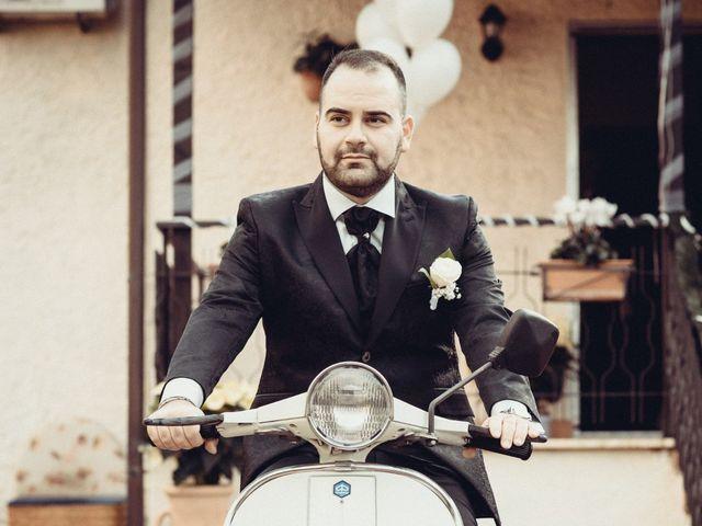 Il matrimonio di Mirko e Elisa a Cerveteri, Roma 50