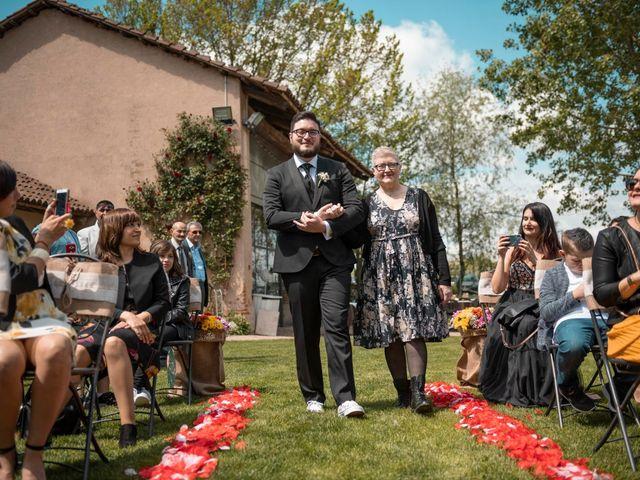Il matrimonio di Christian e Sara a Poirino, Torino 97