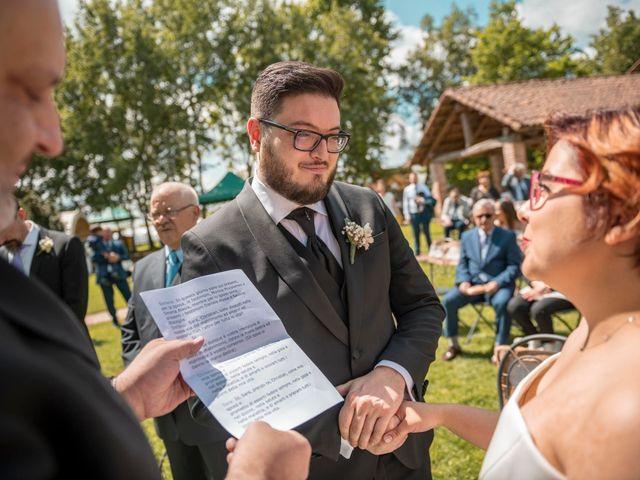 Il matrimonio di Christian e Sara a Poirino, Torino 57