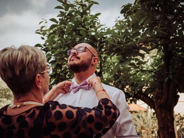 Il matrimonio di Giordano e Elena a Malnate, Varese 22