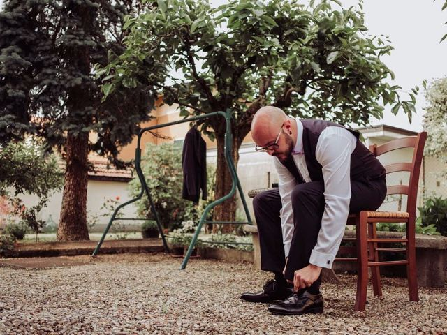 Il matrimonio di Giordano e Elena a Malnate, Varese 25