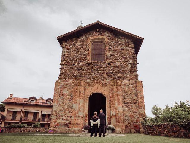 Il matrimonio di Giordano e Elena a Malnate, Varese 37