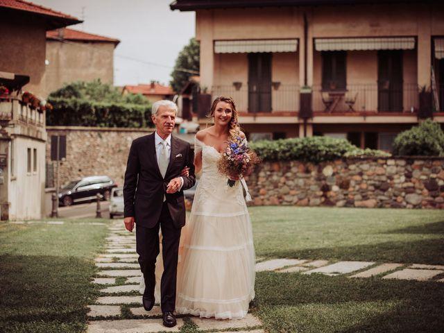 Il matrimonio di Giordano e Elena a Malnate, Varese 40