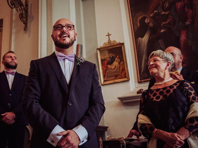Il matrimonio di Giordano e Elena a Malnate, Varese 41