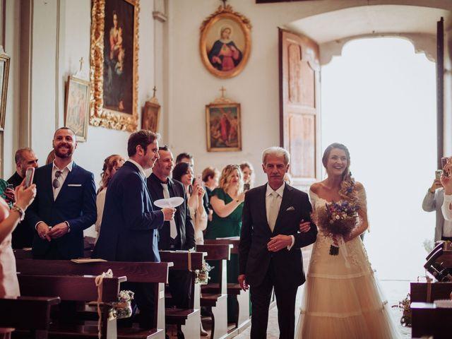 Il matrimonio di Giordano e Elena a Malnate, Varese 44