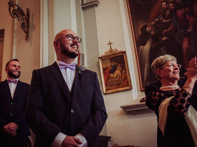Il matrimonio di Giordano e Elena a Malnate, Varese 46