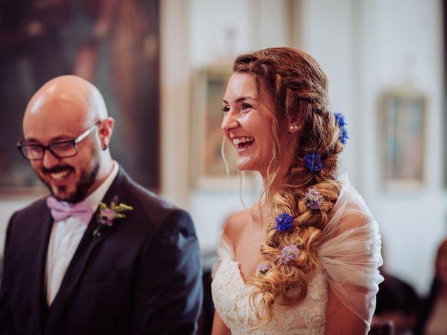 Il matrimonio di Giordano e Elena a Malnate, Varese 52