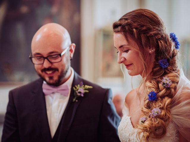 Il matrimonio di Giordano e Elena a Malnate, Varese 54