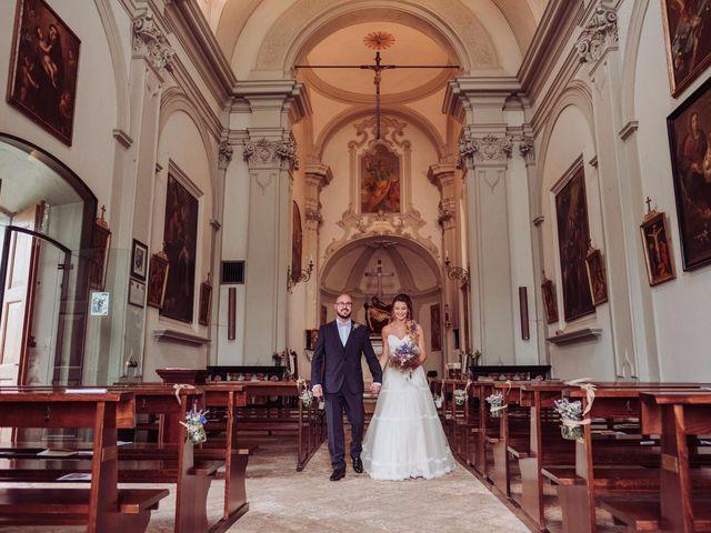 Il matrimonio di Giordano e Elena a Malnate, Varese 56