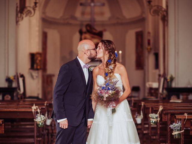 Il matrimonio di Giordano e Elena a Malnate, Varese 57