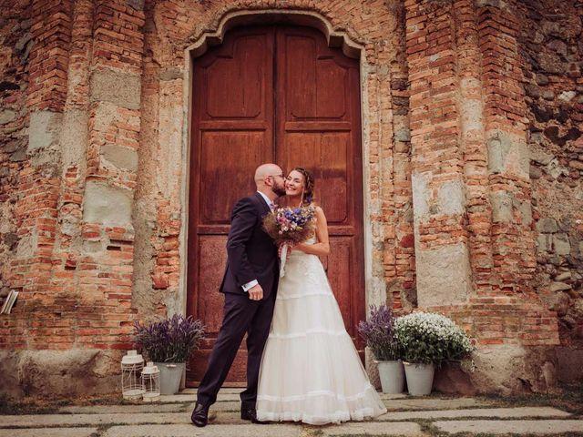 Il matrimonio di Giordano e Elena a Malnate, Varese 61