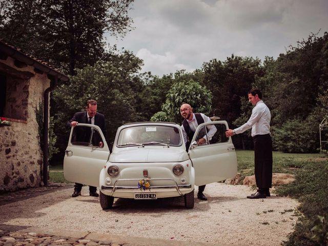 Il matrimonio di Giordano e Elena a Malnate, Varese 65