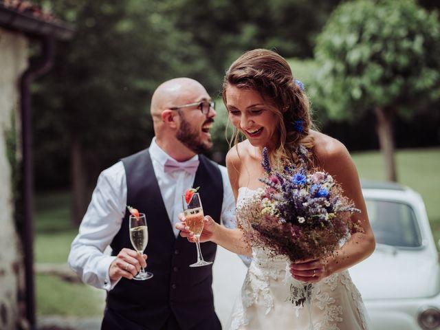 Il matrimonio di Giordano e Elena a Malnate, Varese 67
