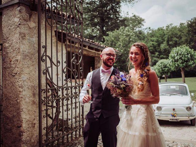 Il matrimonio di Giordano e Elena a Malnate, Varese 68