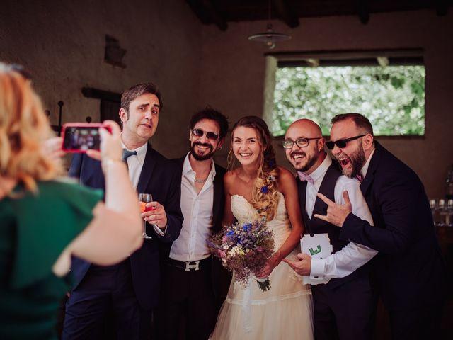 Il matrimonio di Giordano e Elena a Malnate, Varese 73