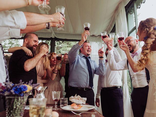 Il matrimonio di Giordano e Elena a Malnate, Varese 80