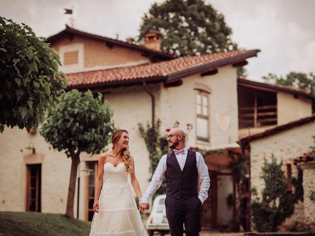 Il matrimonio di Giordano e Elena a Malnate, Varese 94