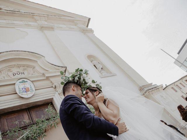 Il matrimonio di Mauro e Christine a Arquà Petrarca, Padova 35