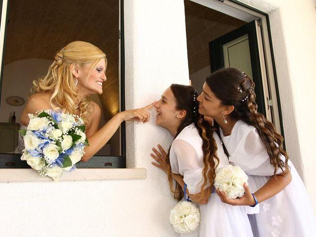 Il matrimonio di Silvia e Vincenzo a Castro, Lecce 1