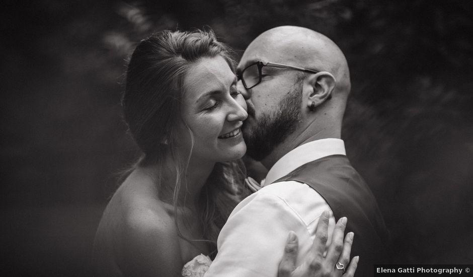 Il matrimonio di Giordano e Elena a Malnate, Varese