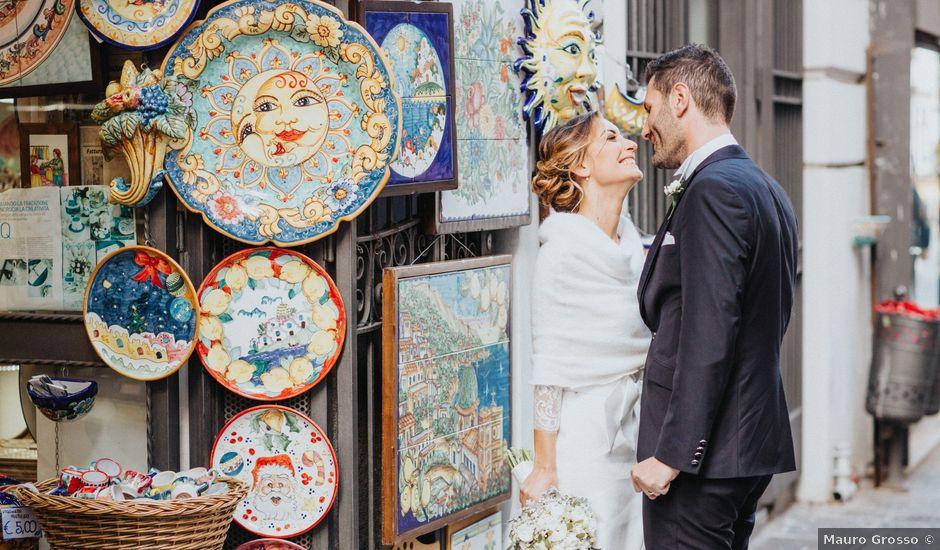Il matrimonio di Daniele e Maria a Salerno, Salerno