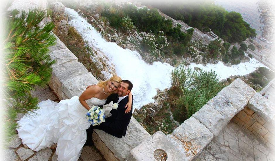 Il matrimonio di Silvia e Vincenzo a Castro, Lecce