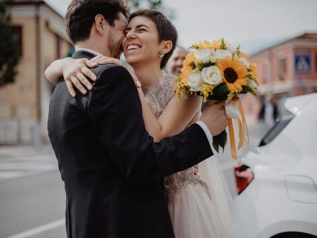 Il matrimonio di Lorenzo e Silvia a Cesena, Forlì-Cesena 30