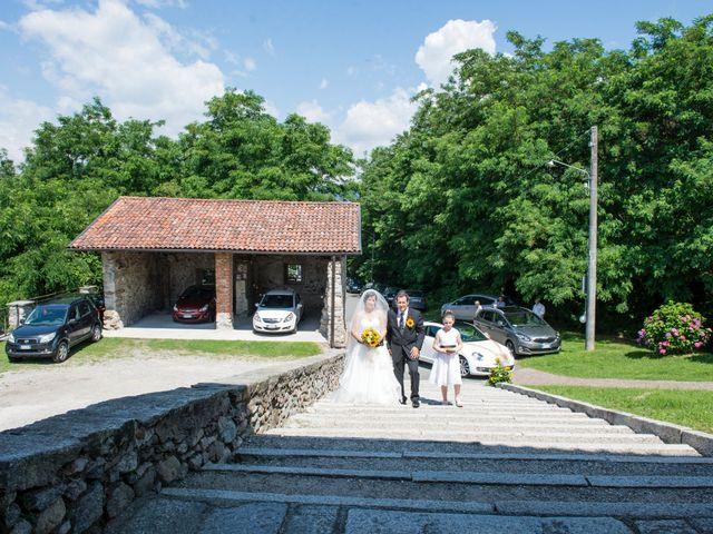 Il matrimonio di Andrea e Pamela a Dormelletto, Novara 18