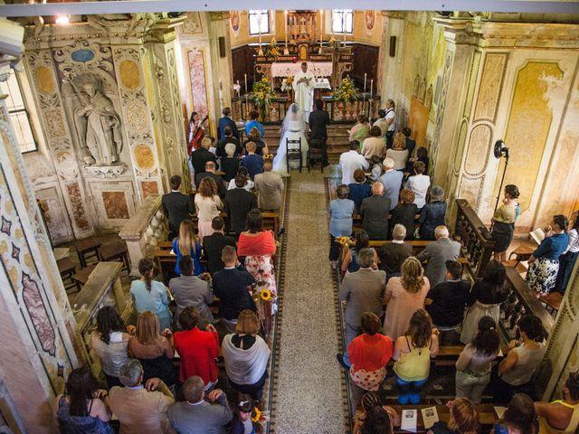Il matrimonio di Andrea e Pamela a Dormelletto, Novara 20