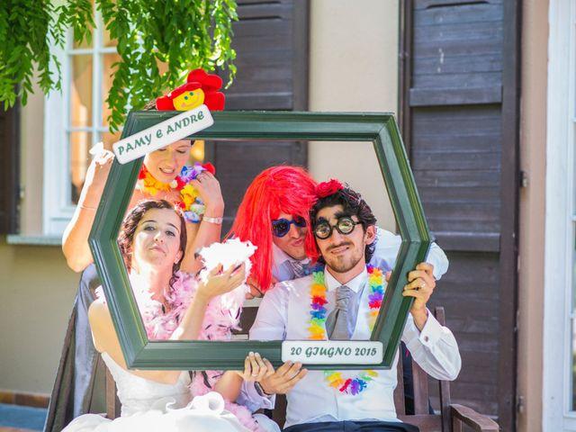 Il matrimonio di Andrea e Pamela a Dormelletto, Novara 43